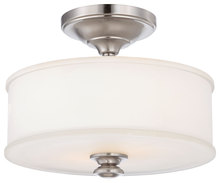 Minka-Lavery 4172-84 - 2 Light Semi Flush Mount